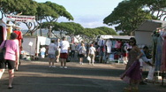 Honolulu swap meet M HD Stock Footage
