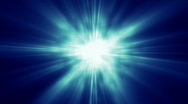 Blue Dust Glow Background Stock Footage