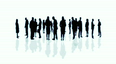 Crowd of People, HD Stock Footage