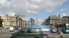 O'Connell Bridge Dublin - stock footage