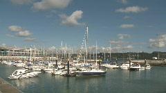Luxury recreation boats Stock Footage