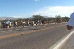 Bicycle race - Tour de Tucson Stock Footage