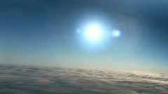 upper atmosphere (fixed re-enhanced) - stock footage