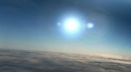 Upper atmosphere (fixed re-enhanced) Stock Footage