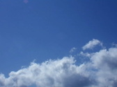 Time Lapse Clouds 024 Stock Footage