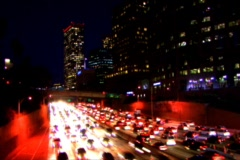freeway 21 - stock footage