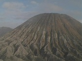 Mt. Bromo Scenery Stock Footage