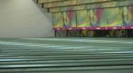 Jm377-Bowling Lanes2 Stock Footage