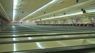 Stock Video Footage of jm376-Bowling Lanes