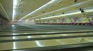 Jm376-Bowling Lanes Stock Footage