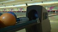 Jm369-Bowling Balls Stock Footage