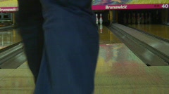 Jm367-Bowling Strike2 Stock Footage