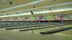 Jm363-Bowling Stock Footage