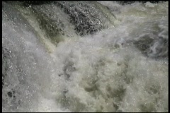 Powerful Waterfall At Hydro Electric Power Plant Stock Footage