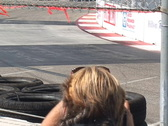 Stock Video Footage of Motor Sports LBGP 2003 vintage formula cars around an S curve