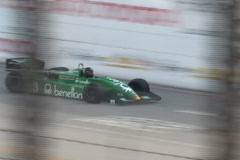 Motor Sports LBGP 2003 - vintage formula race cars - #3 - stock footage