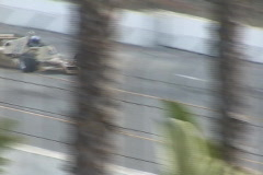 Long Beach Grand Prix 2003 - vintage fomrula race cars - #35  Stock Footage