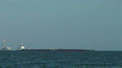 Ship far shot 2 Stock Footage