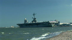 USS lexington Stock Footage