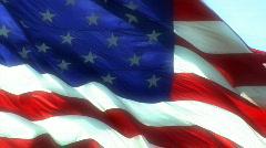 Flag Glow Stock Footage