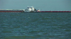 Tugs crossing Stock Footage