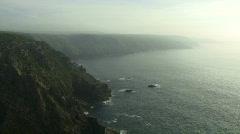 Mist over sea Stock Footage