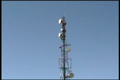 Communications Tower Arkistovideo