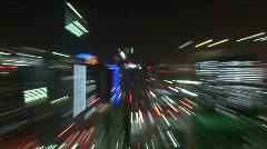 Dubai night shot Stock Footage