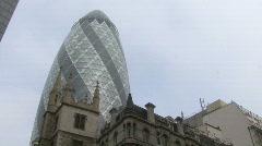 Gherkin london Stock Footage