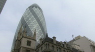 Stock Video Footage of Gherkin london