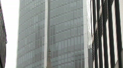London office building zoom out Stock Footage