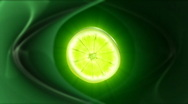 Stock Video Footage of Lime slice,seamless loop