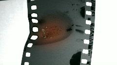 Film Burn 6 Stock Footage