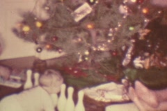 CHRISTMAS WITH DAD Stock Footage
