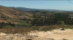 Static Canyon Vista 04 Stock Footage