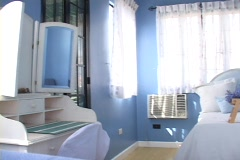 Blue Bed Room Stock Footage