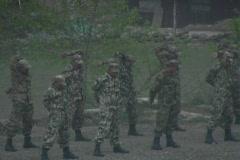 Nepal Army 2 Stock Footage