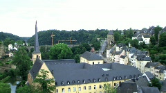 luxembourg - stock footage