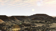 Stock Video Footage of Desert Flyover
