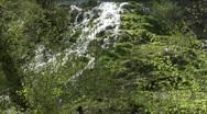 Bad Urach Waterfall Stock Footage