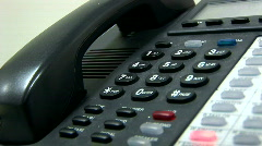 Phone message Stock Footage