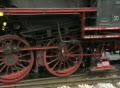Steam train - detail shot Footage