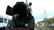 Stock Video Footage of Maintenance work on steam engine