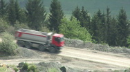 Stock Video Footage of Truck in the quarry