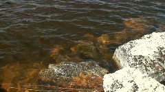 Moraines under water in Finnish Lapland 2  Stock Footage
