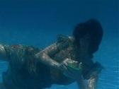 Alina Underwater 1 Stock Footage