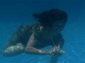 Alina Underwater 3 Stock Footage