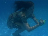 Alina Underwater 4 Stock Footage