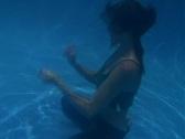 Alina Underwater 11 Stock Footage