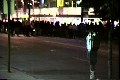 Stanley Cup Riot in Vancouver (Part 3 of 3) Stock Footage